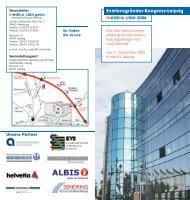 Der Flyer zum Kongress als PDF-Download - medico plan gmbh
