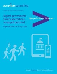 Digital government Great expectations untapped potential