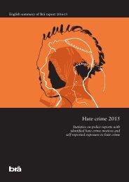 Hate crime 2015