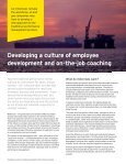 Developing a culture of employee development and on-the-job coaching - Page 2