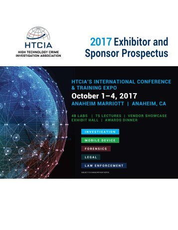 2017 Exhibitor and Sponsor Prospectus