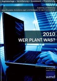 WER PLANT WAS? - Premicon AG