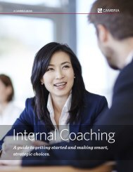 Internal Coaching