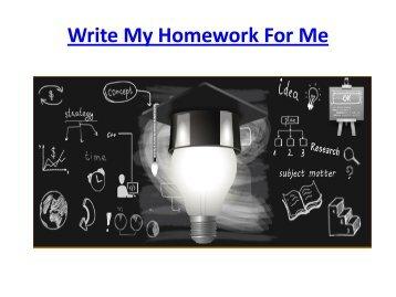 Can Someone Do My Homework