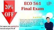 ECO 561 Final Exam 2016 with 30 Questions Answers Free PDF Download