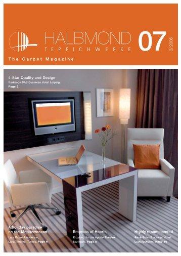 The Carpet Magazine 073/2006 - Halbmond Teppichwerke GmbH