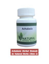 Natural Recovery Options for Achalasia