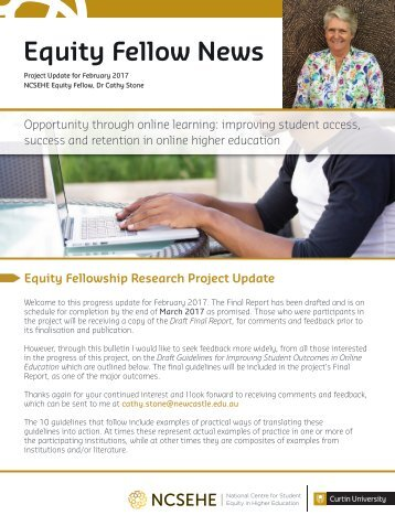 Equity Fellow News