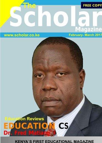 Scholar Magazine 2017