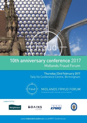 10th anniversary conference 2017