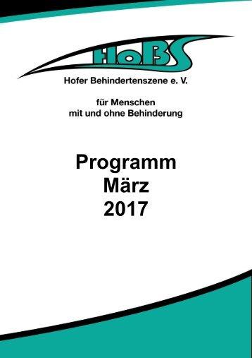 Programm März 2017