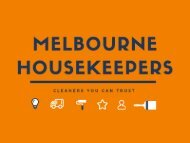 Melbourne Housekeepers