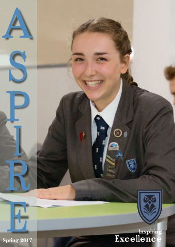 Coombeshead Academy Aspire Spring 2017