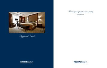 Supply Brochure (PDF) - LivingDesign - Living Consulting Group AB