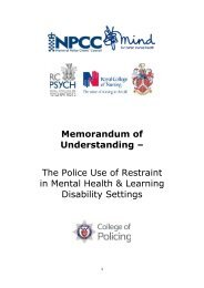 MoU%20-%20the%20police%20use%20of%20restraint%20in%20mental%20health%20and%20LD%20settings%20-%20Jan%202017