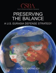 PRESERVING THE BALANCE