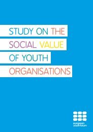 STUDY ON THE SOCIAL VALUE OF YOUTH ORGANISATIONS