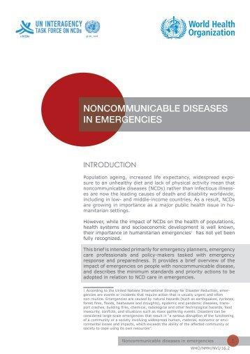 illnesses humanitarian