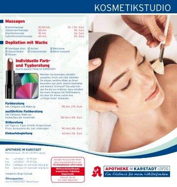 Flyer anzeigen - Apotheke im Karstadt Leipzig