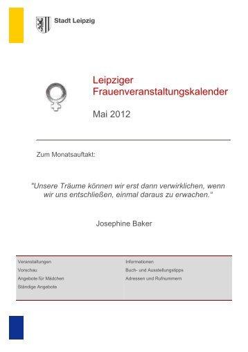 Kalender Mai 2012 - Stadt Leipzig