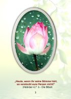 7 Tage Morgentau Glaubensgedanken für stille Momente eine Woche lang - Page 3