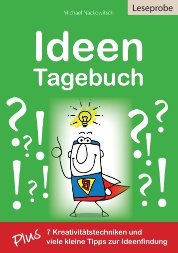 Ideentagebuch-Leseprobe LET