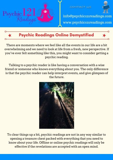 Find How Good Psychic Reading Online Connects with You