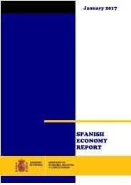 SPANISH ECONOMY REPORT