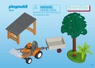 Playmobil 6814 - Notice de montage Playmobil 6814