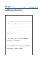 BMET313 Week 4 Homework Assignment