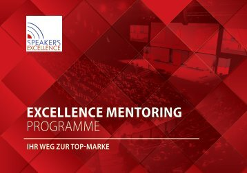 "Das ""Excellence Mentoring"" Programm von Speakers Excellence"