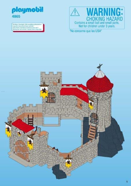 Playmobil 4865 Notice De Montage Pdf Manualsmania