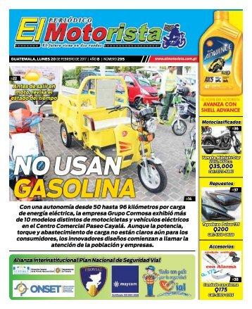 ELMOTORISTA Edicion 20 de Febrero