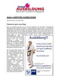 Aktion ANSTOSS AUSBILDUNG - IHK Kassel