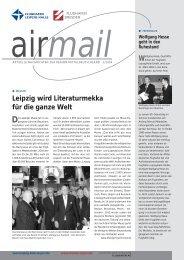 Leipzig wird Literaturmekka für die ganze Welt - Flughafen Leipzig ...