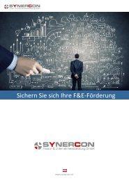 Synercon Förderfolder 2017 neu