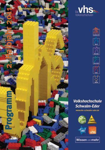 Programm Herbst 2011 - Volkshochschule des Schwalm-Eder-Kreises