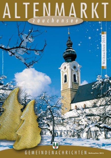 Gemeindenachrichten Weihnachten 2015