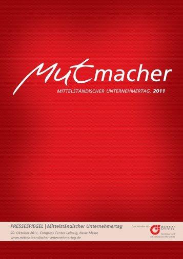 PRESSESPIEGEL | Mittelständischer Unternehmertag 2011
