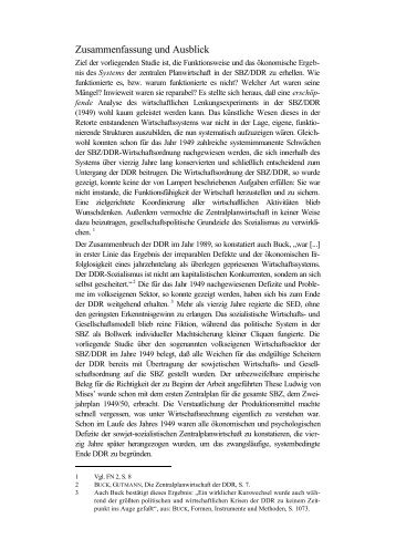 zusammenfassung und ausblick - Zusammenfassung English