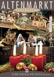Gemeindenachrichten Weihnachten 2014