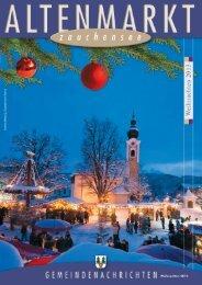 Gemeindenachrichten Weihnachten 2013