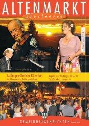 Gemeindenachrichten Sommer 2012
