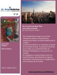 e-AN 35 N° 5 En el centro de New York una nueva entrada por Carlos Sanchez Saravia