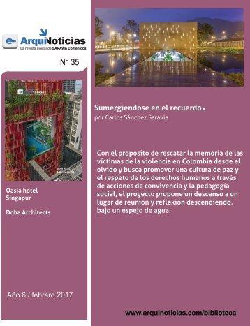 e-AN 35 N° 7 Sumergiendose en el recuerdo por Carlos Sánchez Saravia