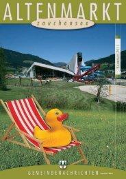 Gemeindenachrichten Sommer 2011