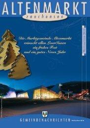 Gemeindenachrichten Weihnachten 2010