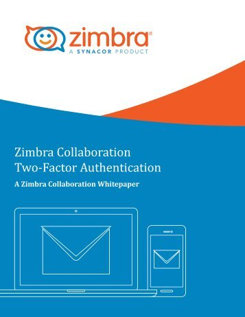 Zimbra Collaboration Two-Factor Authentication
