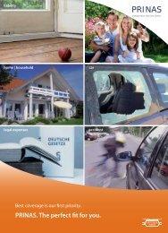 HDI accident insurance - PRINAS Assekuranz Service GmbH