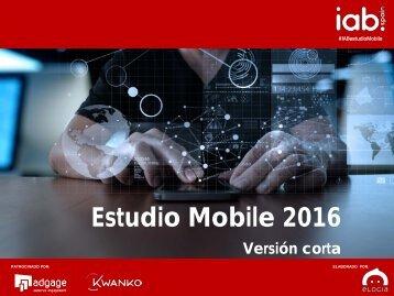 Estudio Mobile 2016